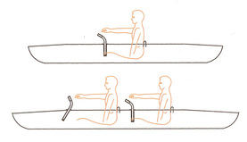 Kayak Boarding Assist Handles Drawing